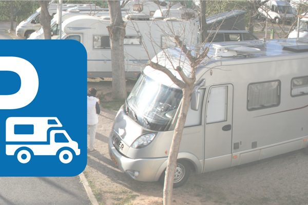 Inst-parking caravana